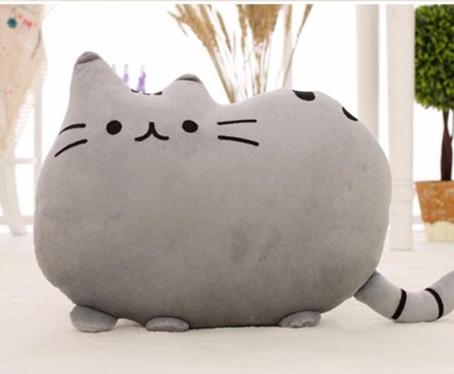 40 * 30 см плюшевые игрушки кукла животных без пп хлопка Juguetes игрушка Pusheen кошку Brinquedos для малыша каваи Peluches симпатичные подушка