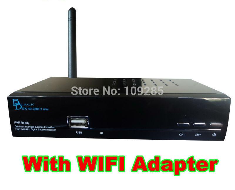 Latest Singapore Cable tv box Blackbox HD-C600 II mini + wifi antenna. Same as C1 Stream box, For HD channels, Qbox(China (Mainland))