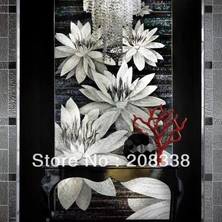 Bianco mosaico di vetro acquista a poco prezzo bianco mosaico di ...
