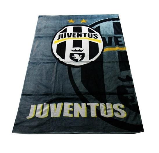 100%cotton Juventus football team Football fans souvenir big towel football team badge bathtowel cotton beach towel,Freeshipping(China (Mainland))