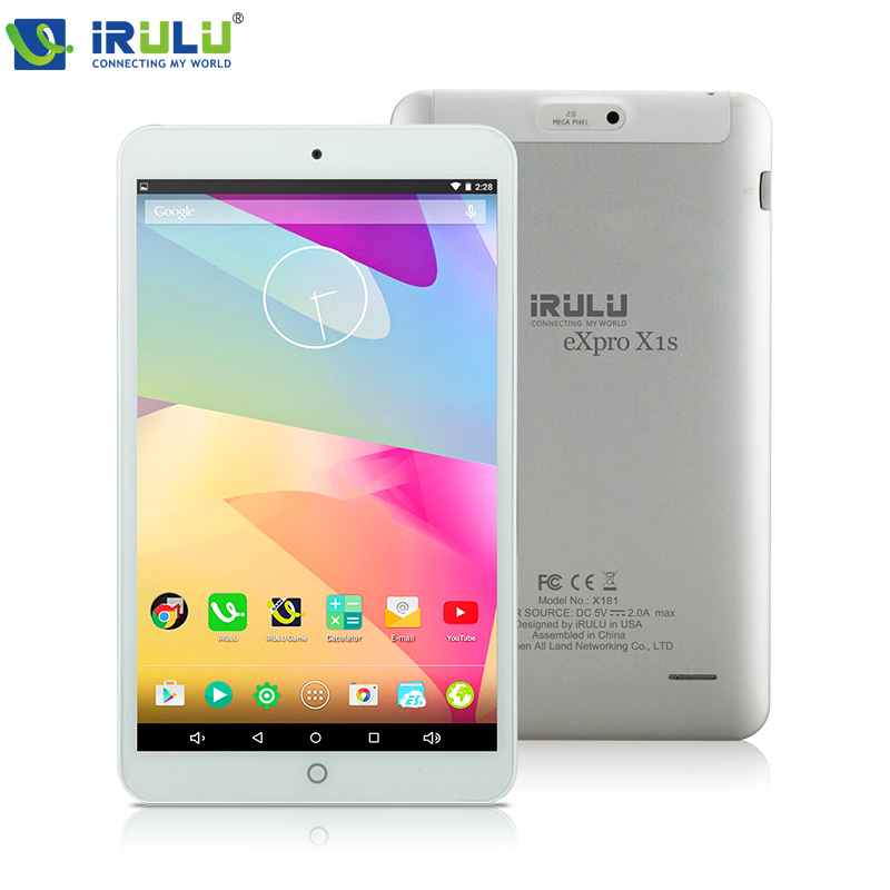 "iRULU eXpro X1s 8"" Tablet PC Computer Quad Core 1280*800 IPS Android 5.1 Download Google Play APP HDMI 2MP with Metal back cover(China (Mainland))"