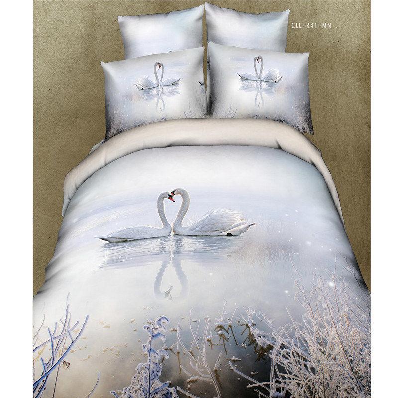 white swan oil painting images. Black Bedroom Furniture Sets. Home Design Ideas