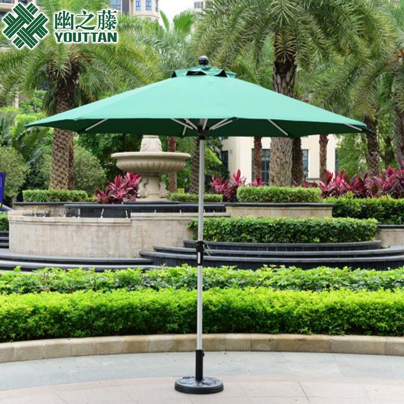 Outdoor furniture garden patio umbrella column stall balcony beach casual cafe booth Roman shade<br><br>Aliexpress