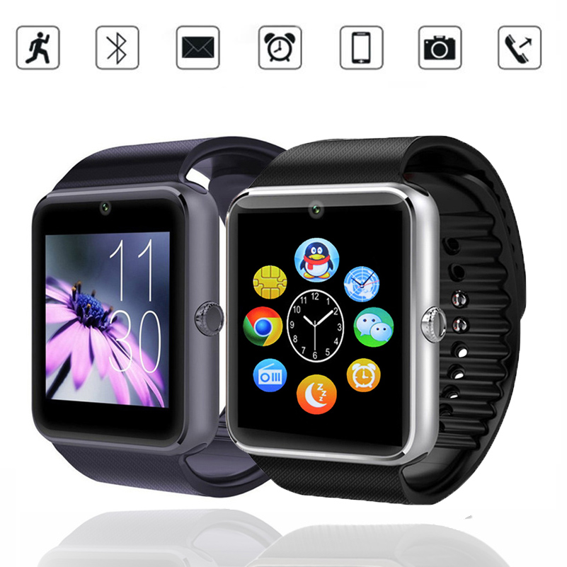 New Smart Watch GT08 Clock Sync Notifier Support Sim Card Bluetooth Connectivity For Apple iphone Android Phone Smartwatch 8991<br><br>Aliexpress
