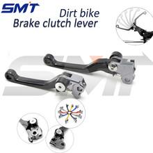 Suzuki RMX 250S 96 97 98 99 00 01 02 03 04 05 06 07 08 09 10 11 Motorcycle CNC Pivot Brake Clutch Levers 7 Colors - SMT MOTOR store