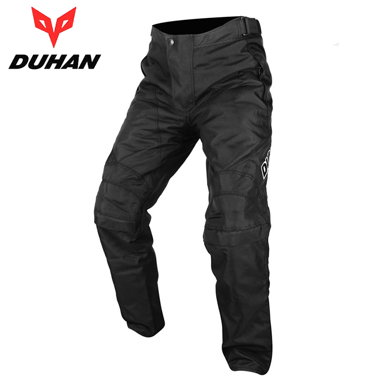 DUHAN Men's Oxford Cloth Motocross Riding Protective Windproof Sports Pants Clothing Motorcycle Enduro Racing Pantalon Trousers - Top-touch Technology Co.,Ltd store