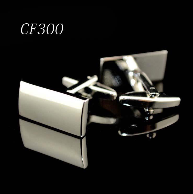 Cf300 Laser Cufflinks Men Jewelry Cufflink Wedding Shirt Cufflinks High Quality for Mens Cuff Designer Brand(China (Mainland))