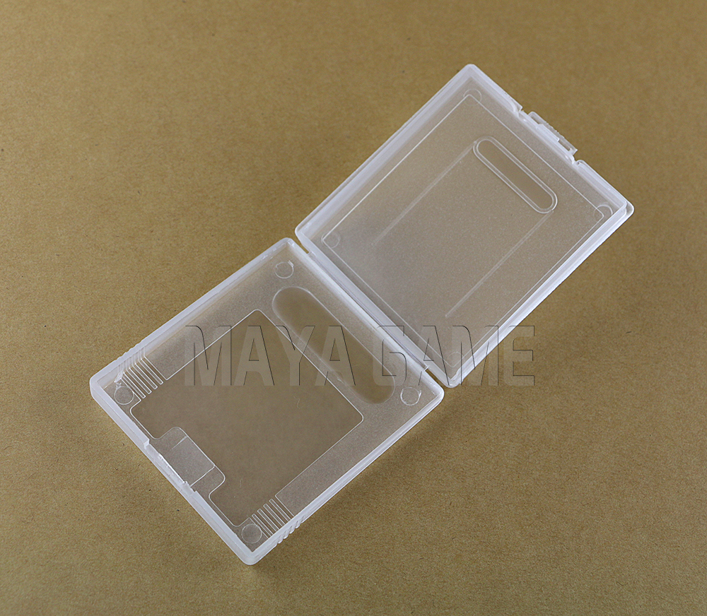 Clear Plastic Game Cartridge Cases Storage Box Protector Holder Dust Cover Shell For Nintendo GameBoy GB GBC GBP 10pcs/lot(China (Mainland))