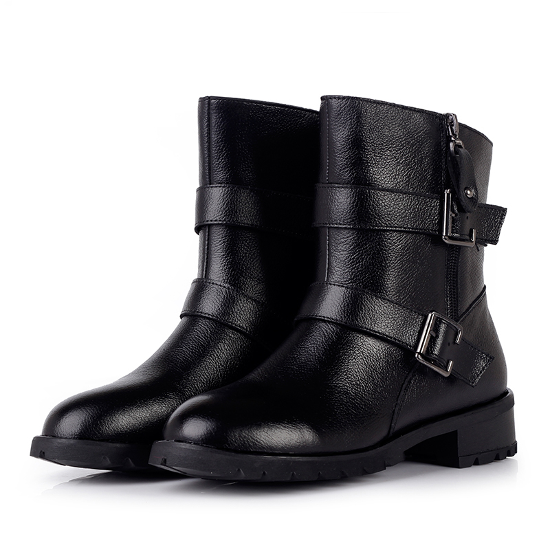 2015New Design Shoes Women Boots Winter Famous Brand Boots For Women Motorcycle Boots Cool Shoes  Slip-On Plus Size Boots 35-43<br><br>Aliexpress