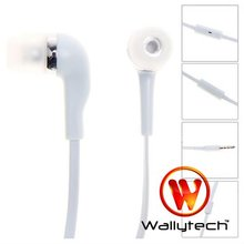 Wallytech 10pc/lot  Flat Cable Earphone For iPhone 5 With Mic & On/off Button For iPhone 4s /3GS  (WHF-099 )(China (Mainland))