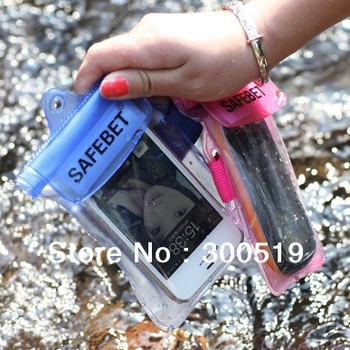 GB054 Arm Bag Phone Camera Waterproof Arm Bag Diving Swimming Necessary Water-resistant Purse Pouch Free Shipping