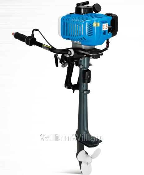 Free shipping anqidi 2 stroke 3 5 hp air cooled outboard for 25 hp outboard motor reviews