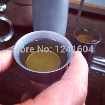 Фотография 2015 New Arrivals Titanium Tea Maker-Panna Fire Maple FMP-T320 Titanium Tea Maker Tea Set Cup Tea ware 149g free shipping