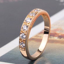 2014 Brand New Design 18k White Gold Plated White Crystals Swiss Zircon CZ Gold Rings For Woman Free Shipping (GULICX R182)