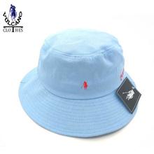 Hot brand Fishman caps women and men POL0 bucket hats bob chapeau black camping Fisherman hat hiking hunting bucket hat