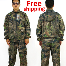 2016 new Combat BDU Uniform Camouflage suit sets Military uniform combat Airsoft Hunting uniform big size xl-6xl free Shipping
