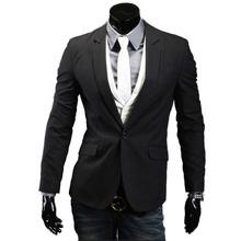 Casual Blazer Men Fashion Plus Size Business Slim Fit Jacket Suits Masculine Blazer Coat Button Suit Men Formal Suit  jacket(China (Mainland))