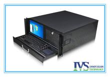 High performance 4U case with LCD screen Item NO:RC450C 4U workstation(China (Mainland))