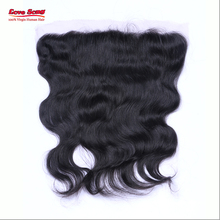 Peruvian Lace Frontal Closure Bleached Knots Full Frontal Lace Closure 13X4 Virgin Human Hair Full Lace Frontals With Baby Hair