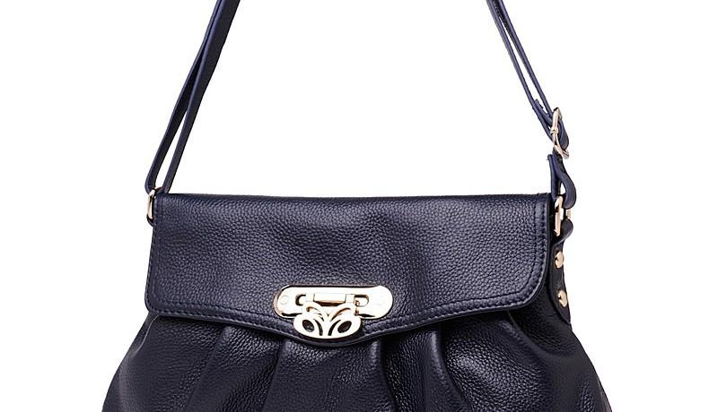 2014 Fashion Genuine Leather Bag Lady Bolsos Casual Women Messenger