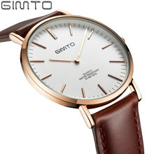 Buy 2016 Men Watches Top Brand Luxury Waterproof Ultra Thin Clock Male Female Leather Casual Quartz Watch Mens Sport Relogio Montre for $12.78 in AliExpress store