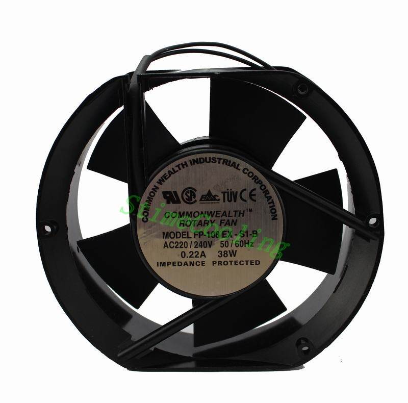 15pcs AC Plastic 17050 170x150x50mm 170mm 17cm 240v ventilation case fan(China (Mainland))
