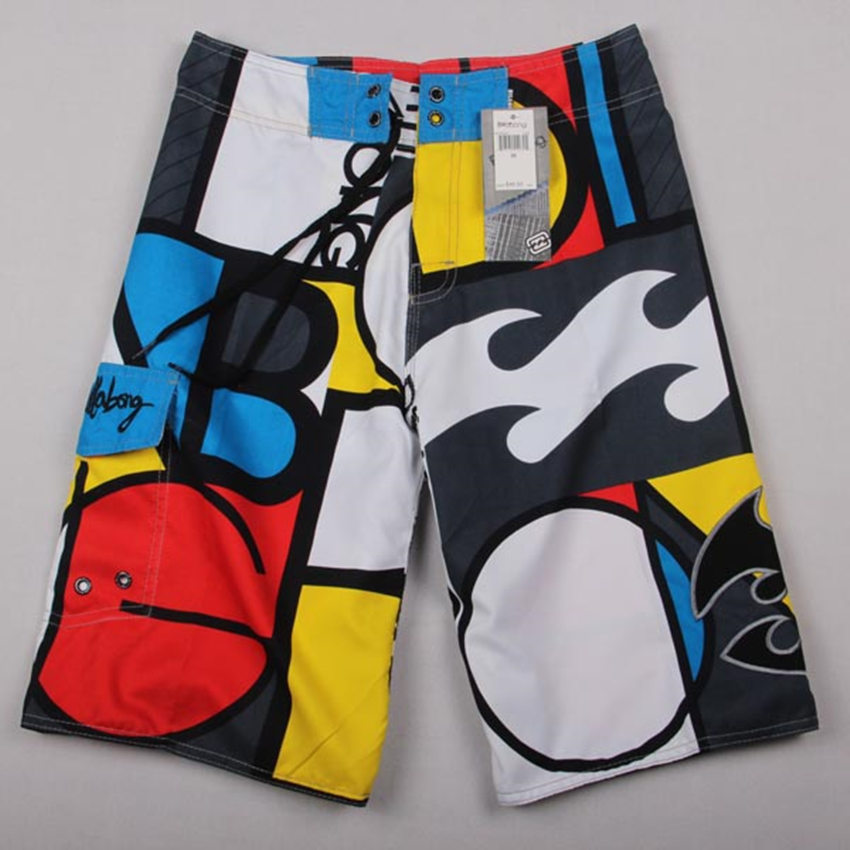 New 2015 BILLABONG men shorts /Quick dry Men's surf board Bermuda surf shorts Casual beach swim sports swimwear brand 21color(China (Mainland))