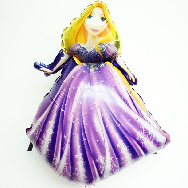 Decoracion Rapunzel Globos ~ Compra princesa globos metalizados online al por mayor de China