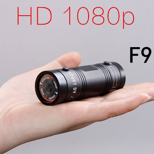 Mini Camcorder F9 Full HD 1080P Waterproof Action camera 120+Wide Angle Lens Sport Camera Expedition Outdoor Cycling Diving DV(China (Mainland))