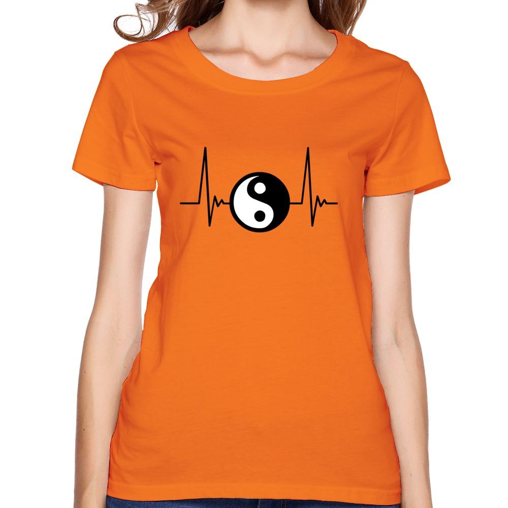 Ying Yang Pulse 2c Top Brand Shirts Crazy Organic Cotton