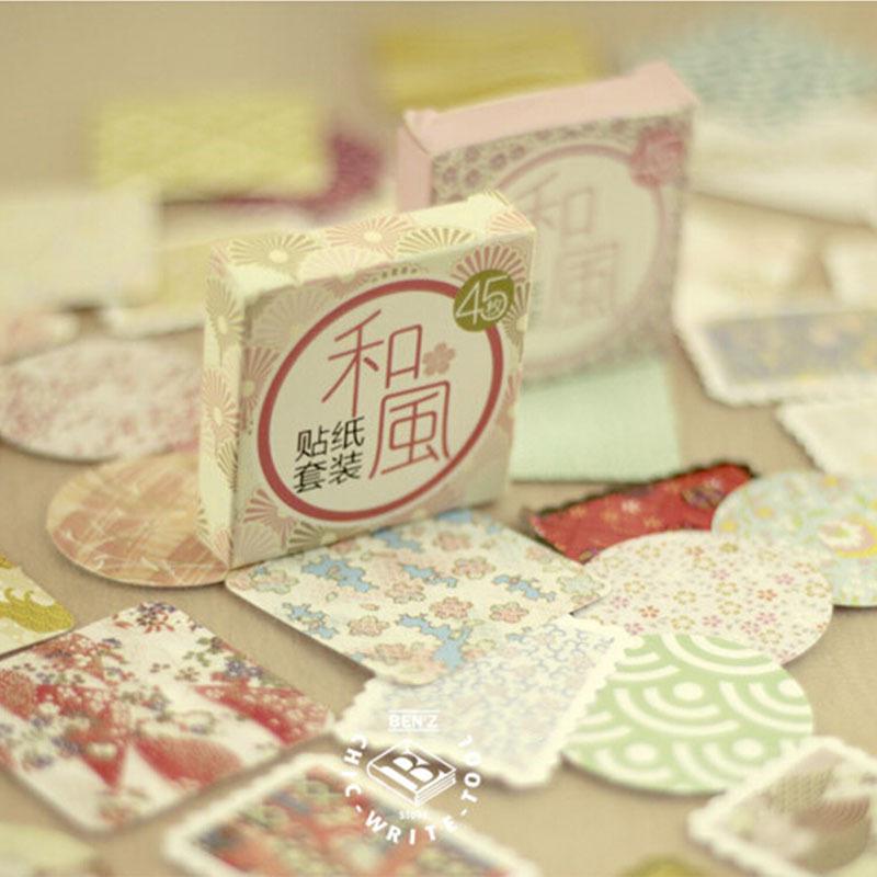 90 pcs/ 2 boxes mini momo flower paper sticker decoration DIY diary scrapbooking sealing sticker kawaii  stationery<br><br>Aliexpress