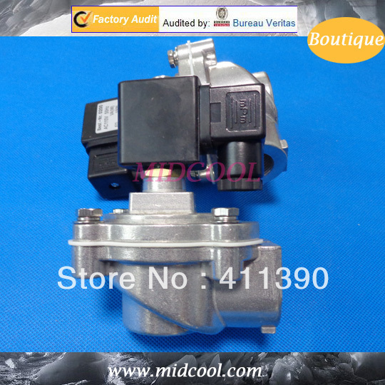 Air compressor pressure switch MCF-25 ZG1 Pulse Valve for Dust Collector, MCF Series Solenoid pulse valve