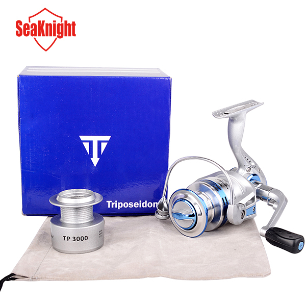 SeaKnight 2015  Tri-Poseidon Series 12+1 BB Metal Spinning Fishing Reel Dual Ball Bearings With Spare Spool Carp Fishing Wheel(China (Mainland))
