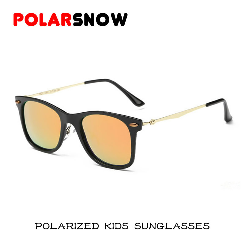 New Fahion Polarized Sunglasses Children 2016 Safety Coating Sun Glasses Girls Boys UV400 Protection Fashion Kids Oculos De Sol