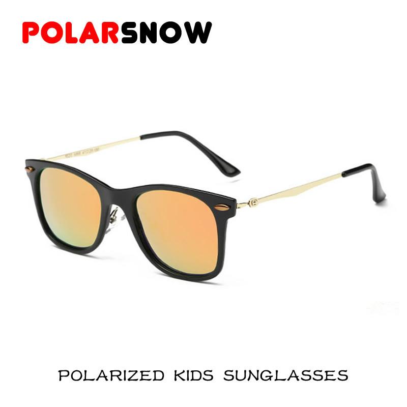 New Fahion Polarized Sunglasses Children 2016 Safety Coating Sun Glasses Girls Boys UV400 Protection Fashion Kids Oculos De Sol