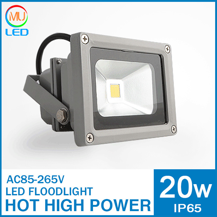 2014 new 20w 30w led flood light 85-265V arrival Retail&Wholesale free shipping by express 45mil 2000lm IP65 outdoor lighting(China (Mainland))
