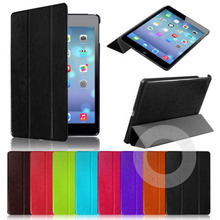 for iPad mini New Ultra Slim Smart PU Leather Case Cover for Apple iPad Mini 1 2 3 + Screen Protector + Stylus(China (Mainland))