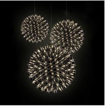 Modern Design Lighting Free Shipping Creative Fireworks Sky Star LED Art Light Droplight Pendant Lustre Luxury PLL-42 <br><br>Aliexpress