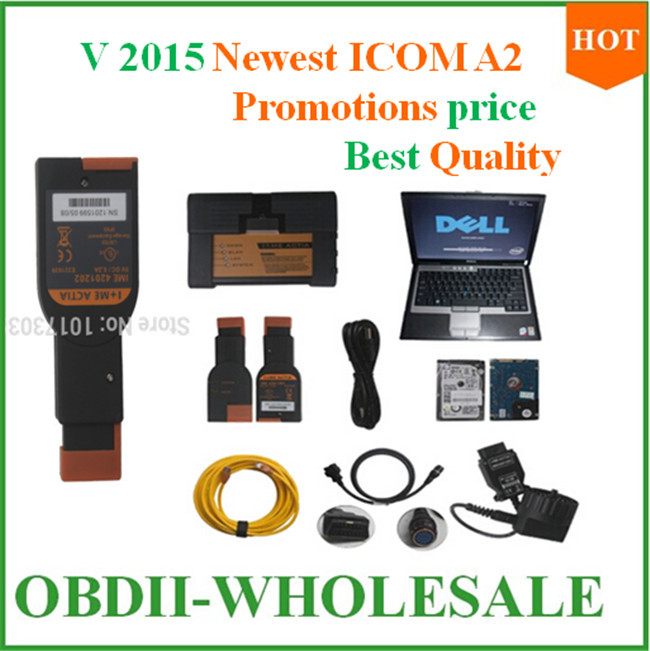 Best quality ICOM A2 Diagnostic & Tool for BMW ICOM A2 with HDD with Laptop can repairing the newest cars with promotions price(China (Mainland))