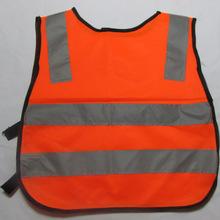 Безопасный и удобный Лидер продаж детали безопасность детей жилет серый светоотражающие полосы трафика одежда зеленый оранжевый(China)