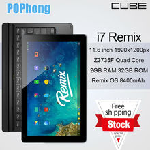 i7 Remix OS Tablet PC 11.6 inch 1920*1080 Quad Core GPS 2GB RAM In-tel Z3735F HDMI 8400mAh(China (Mainland))
