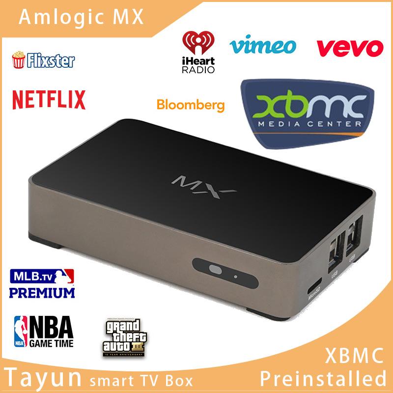 MX XBMC Fully Loaded Midnight Google Android 4.2 Dual Core TV Box Media Player Amlogic 1GB/8GB ARM Cortex A9 WiFi+Remote Control(China (Mainland))