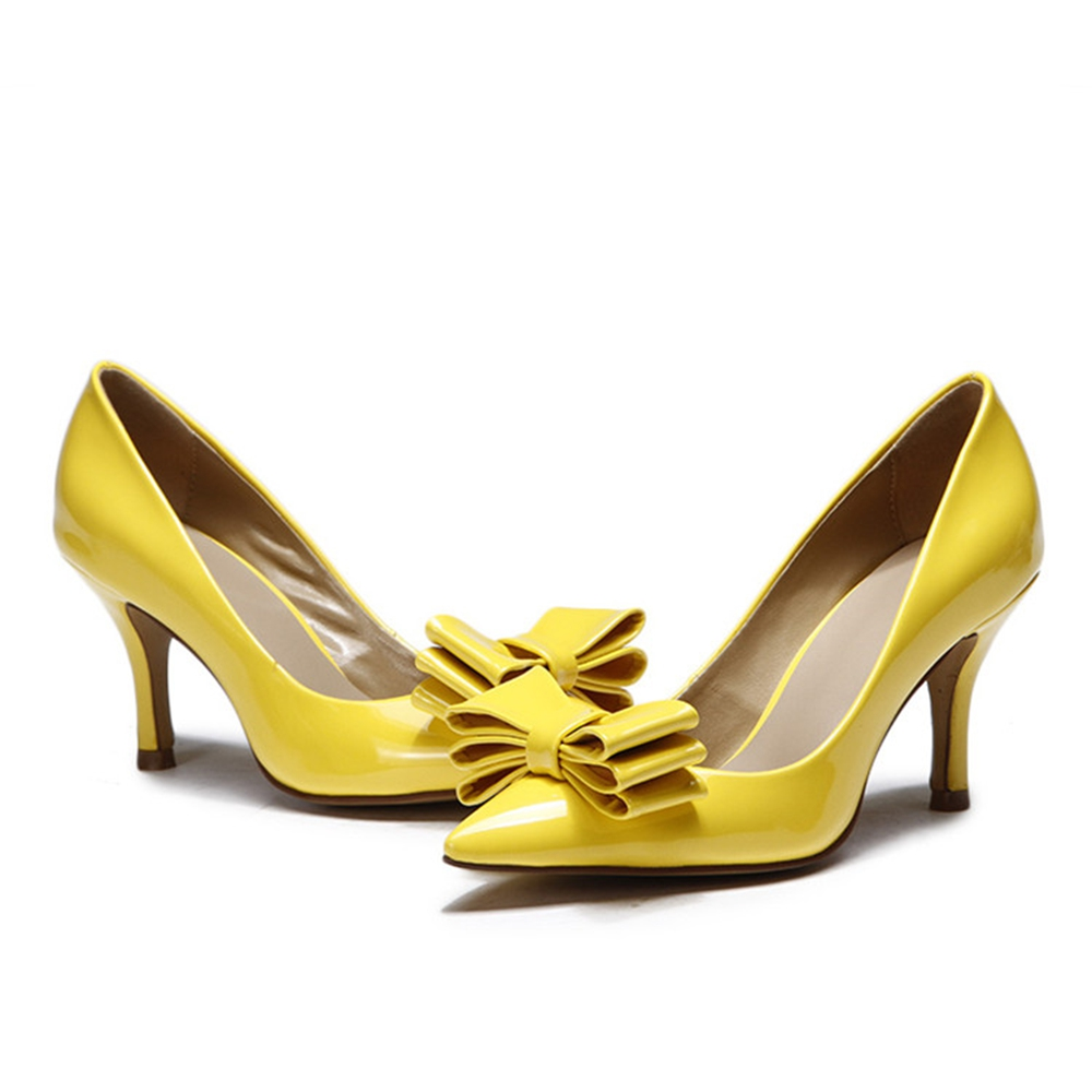Yellow High Heels Cheap