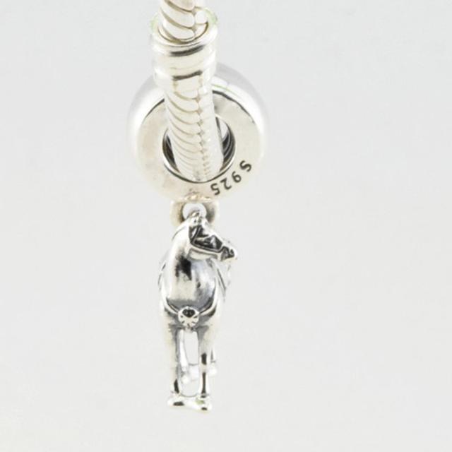 Disny максимус бусины подходит пандо ра подвески животных лошадь бусины оригинальный стерлинг 925 серебряные Jewerly 2016 весенняя коллекция