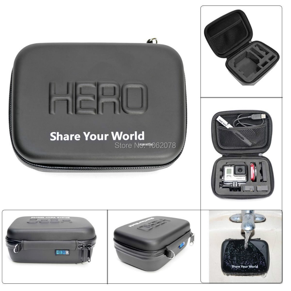 GoPro Accessories HD Shockproof WaterProof Portable Case For GoPro Hero 3 HD3 2 N2 Camera Accessories Gopro Bags<br><br>Aliexpress
