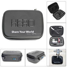 Shockproof WaterProof Case Carrying Bag For GoPro Hero 4 3+ 3 2 Camera Go pro Accessories Bags 7″