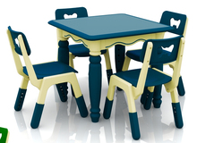 New!!! Height Adjustable Children Plastic Square Table Kindergarten Nontoxic Kids Furniture CH2605(China (Mainland))