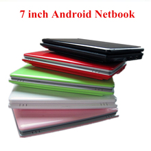 7 inch 7″ Android Netbook Notebook Pad Tab 4.2 Dual Core Student Kid School Laptop Netbook Mini Computer PC Gift Front Cameras