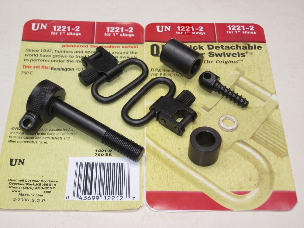 Free shipping Un QD Super Gun Sling Swivels 1221 2 Fits remington 760std 760a 760 Adl
