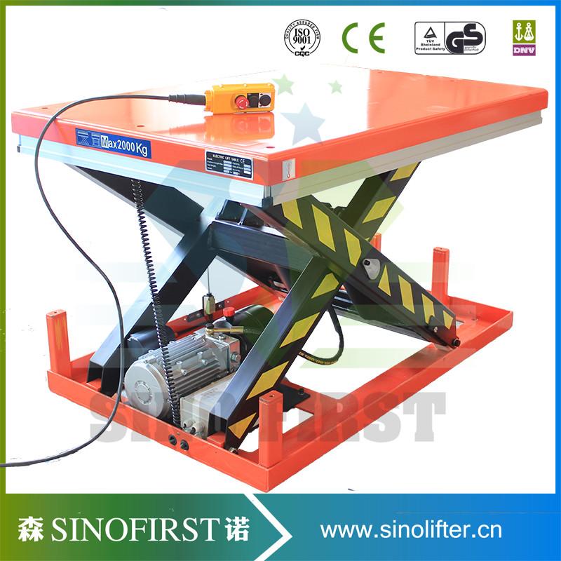 Hydraulic Pallet Lifters : Pallet lifter scissor lift table platform hydraulic